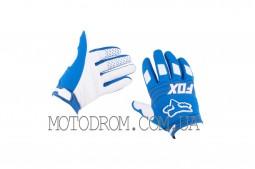 Перчатки FOX DIRTPAW (mod:030, size:M, синие)