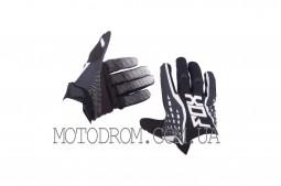 Перчатки DIRTPAW (mod:035, size:M, черно-белые) FOX