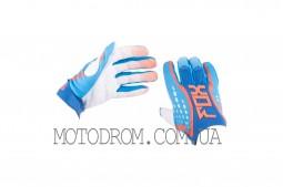 Перчатки DIRTPAW (mod:035, size:XL, синие) FOX