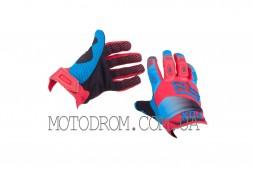 Перчатки DIRTPAW (mod:038, size:L, красно-синие) FOX