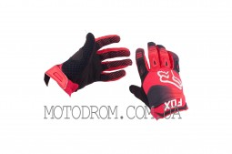 Перчатки DIRTPAW (mod:038, size:L, красно-черные) FOX