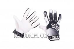 Перчатки DIRTPAW (mod:038, size:L, черно-белые) FOX