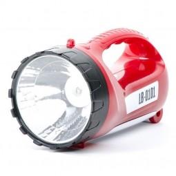 Фонарь аккумуляторный 1 LED 5W+15 SMD INTERTOOL