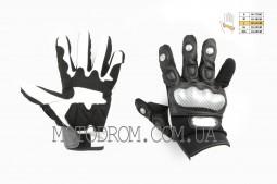 Перчатки SCOYCO (mod:MC-33, size:L, черные, текстиль)