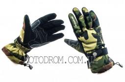 Перчатки SCOYCO (камуфляж, зелено-коричневые size M)
