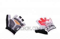 Перчатки без пальцев (size:XL,красные) HAND CREW