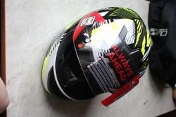 Мотошлем LS2 FF352 ROOKIE INFINITE White Black Red (XS)