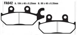 Гальмівні колодки передні (ліві) BRP/CAN-AM Commander 1000