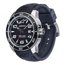 Годинник Alpinestars Tech Watch 3H steel silicon strap