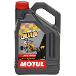 """Масло для квадроцикла Motul Powerquad 4T 10W40 """"4L"""""""