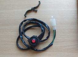 Кнопка остановки двигателя глушилка