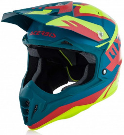 Шолом ACERBIS IMPACT 3.0 YELLOW/RED (size:M)