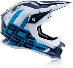 Шолом ACERBIS PROFILE 4 BLUE/BIANCO (size:M)