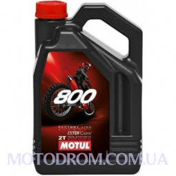 MOTUL 800V 2T FACTORY LINE OFF ROAD 4 літри