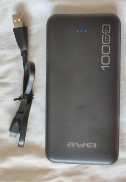 Павербанк Awei 10000 mAh 2*USB